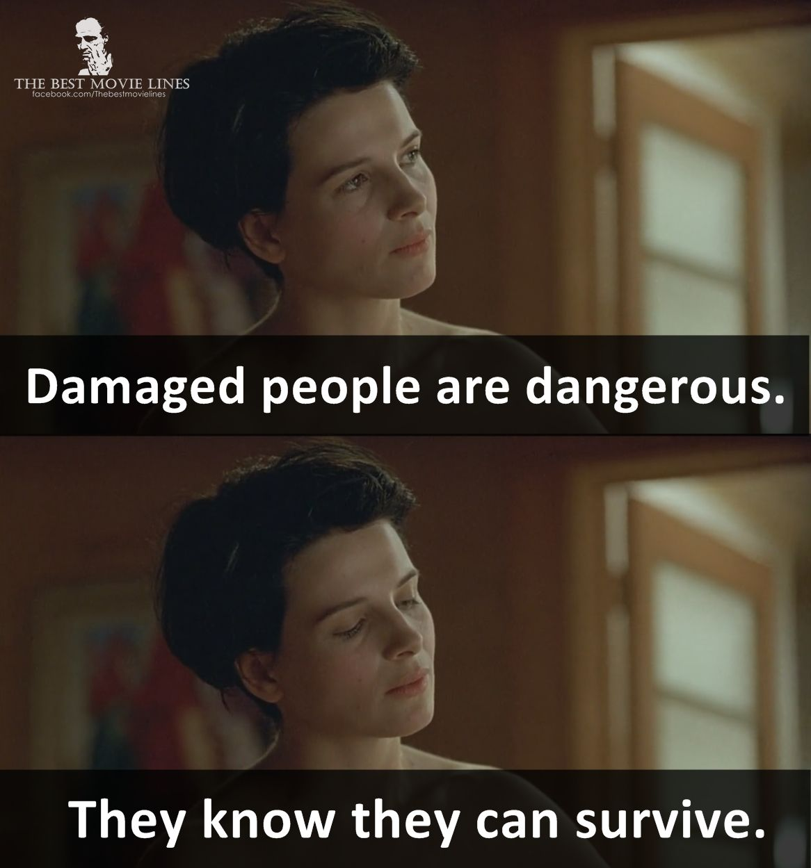 Juliette Binoche In Damage 1992 Movie Quotes Funny Funny Movie Lines Movie Lines