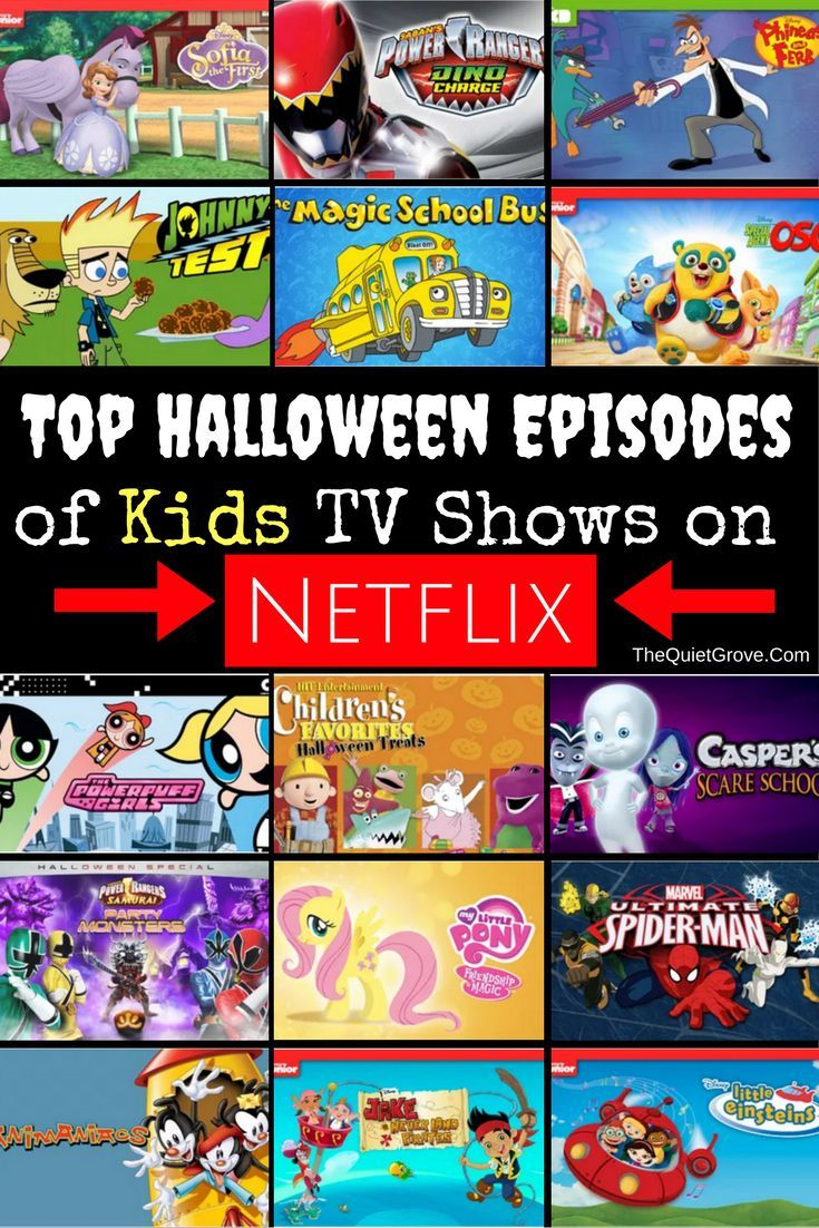 Top Halloween Episodes of Kids TV Shows on Netflix ⋆ The