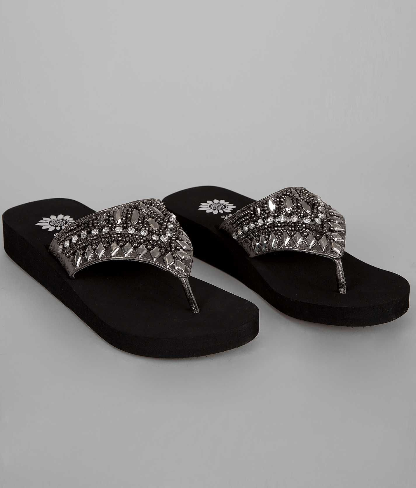 5f8bee1e94e101 Really want a pair of Yellow box flip flops and these are awesome!!! Yellow  Box Glitz Flip - Women s Shoes