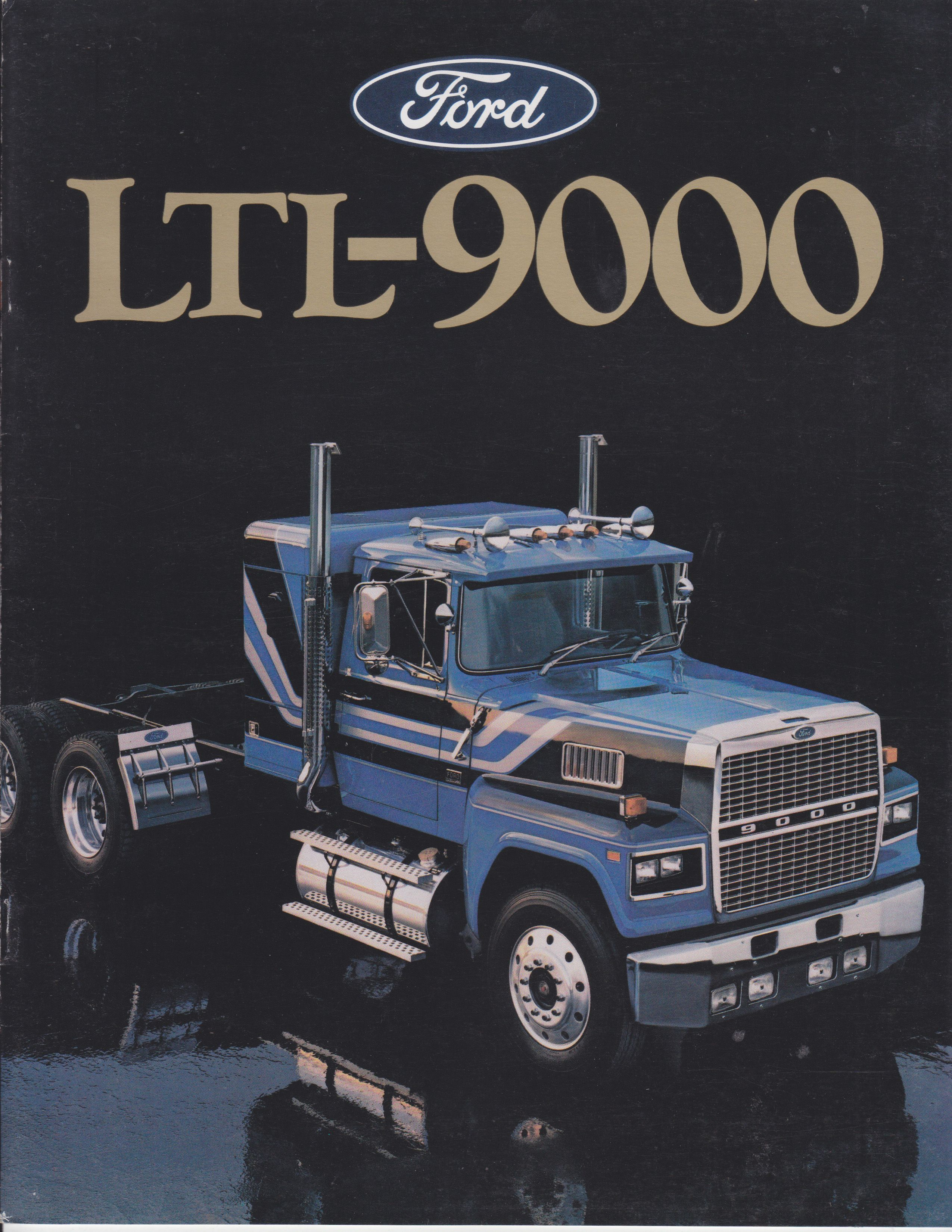 Ford Usa Ltl 9000 Truck Sales Brochure 8 1985 Fto 8624 In 2020 Big Ford Trucks Trucks Ford Trucks