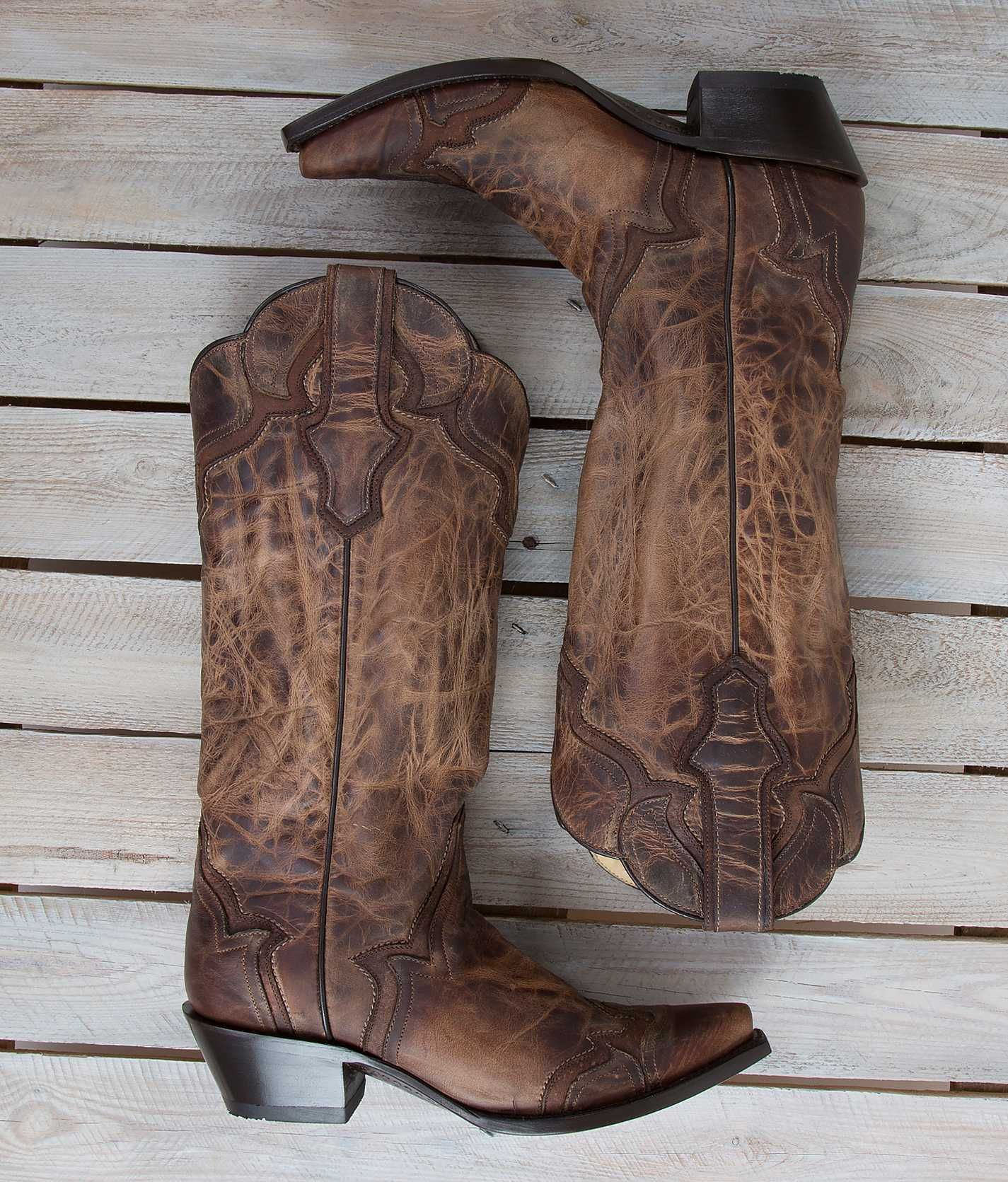 Corral Distressed Cowboy Boot - Women's Shoes | Buckle | Western ...