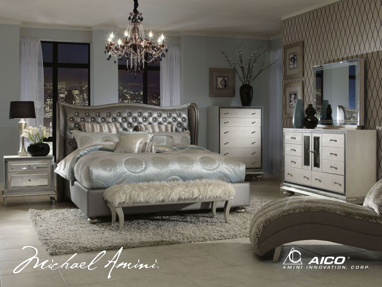 Hollywood Style Bedroom Furniture