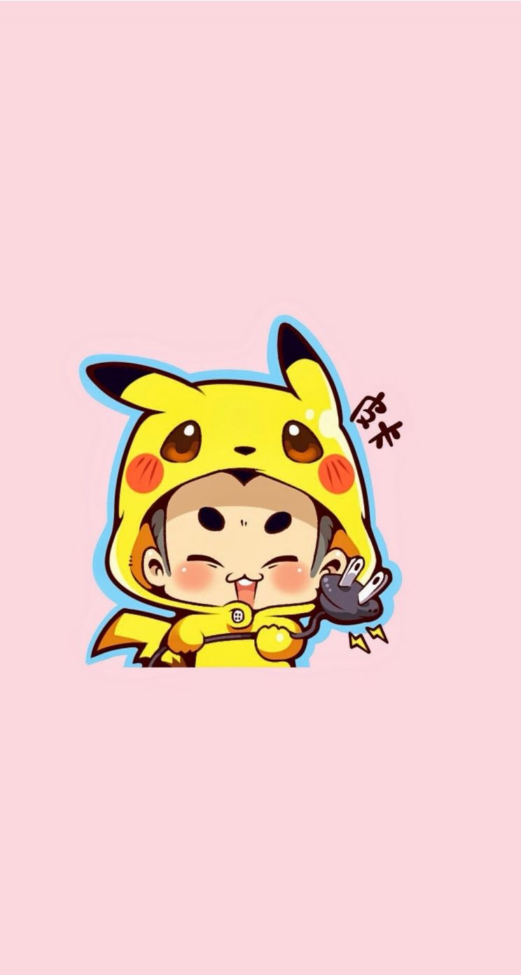 PIKA So Cute Download This Guy Pikachu IPhone Wallpapers Parallax Tap For More