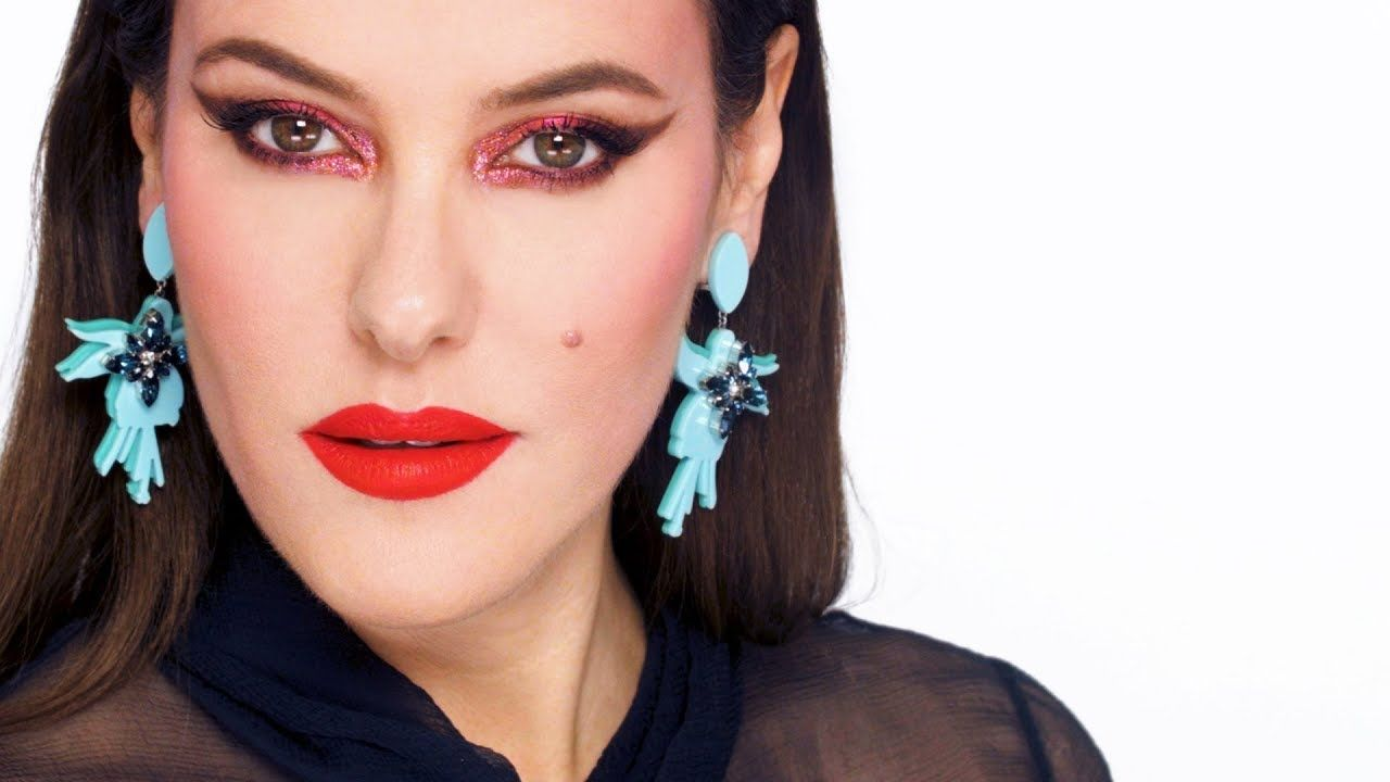 Hot Pink Glam Makeup Tutorial Late 70s Inspired