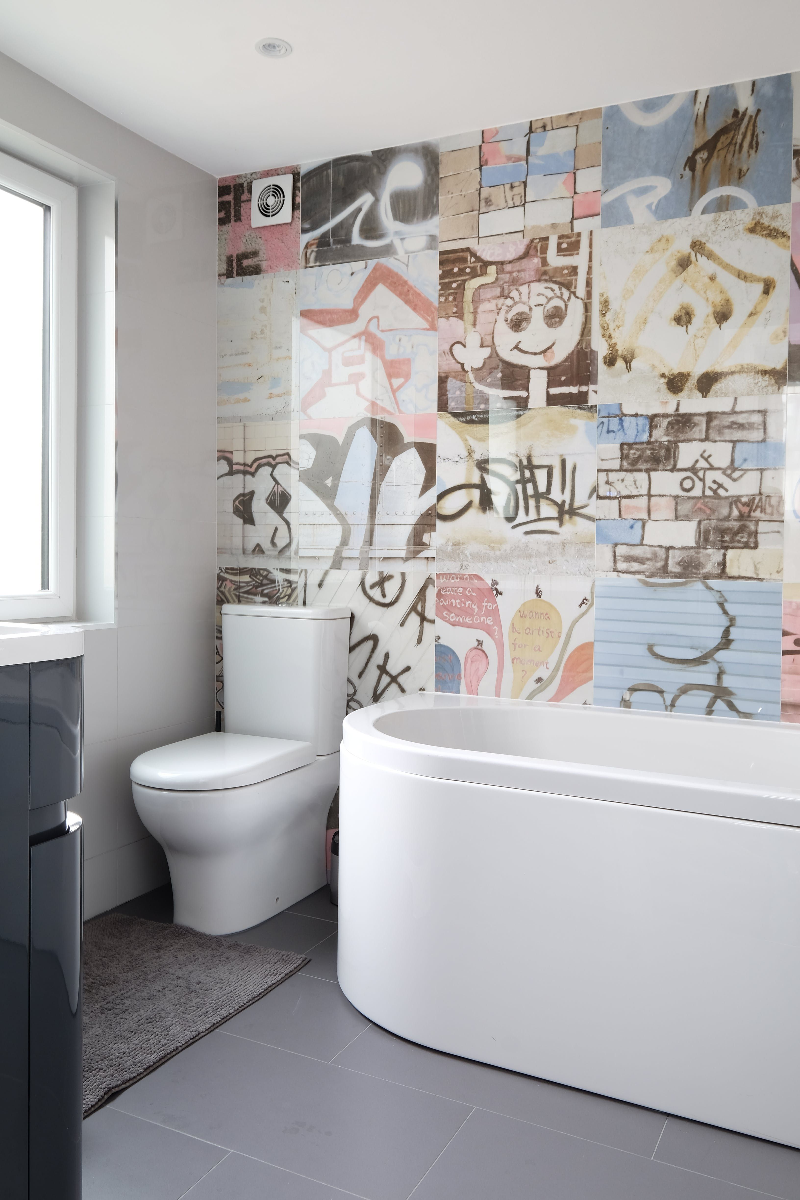 Tour a Small, Renovated West London Home | Tiles direct, West london ...