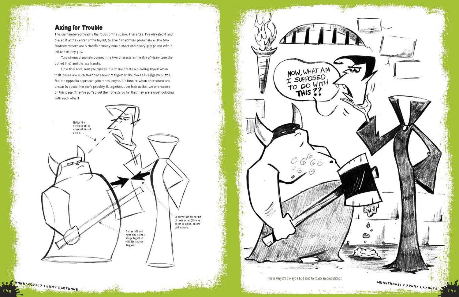 Christopher Hart Cartooning The Ultimate Character Design Book Pdf : Christopher hart monstrously funny cartoons