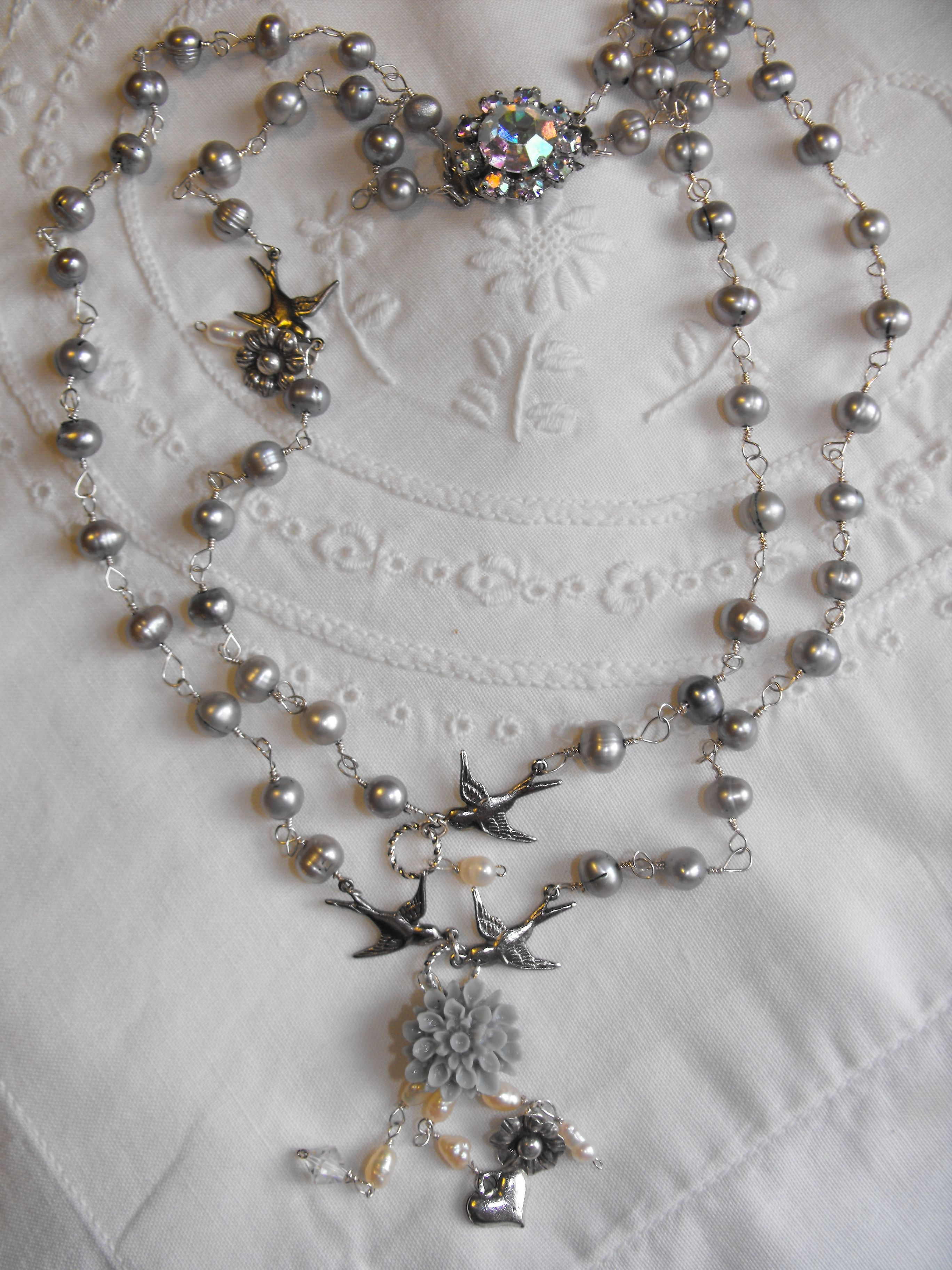 Flights Of Fancy Necklace | Jewelry: Wire Necklaces, Pendants, and ...