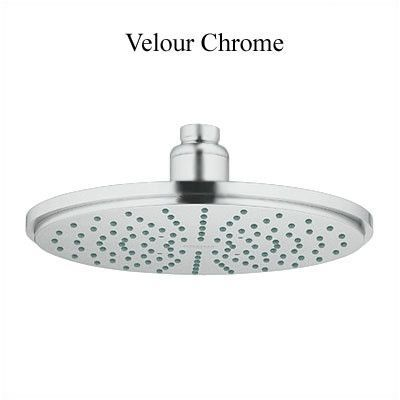 Grohe Multi Function Rain Shower Head With Speedclean Nozzles And