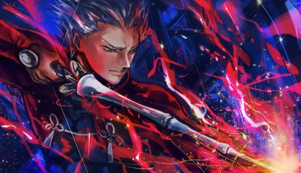 DeviantArt: More Like Archer (Fate Stay Night Unlimited Blade Works) by sanoboss