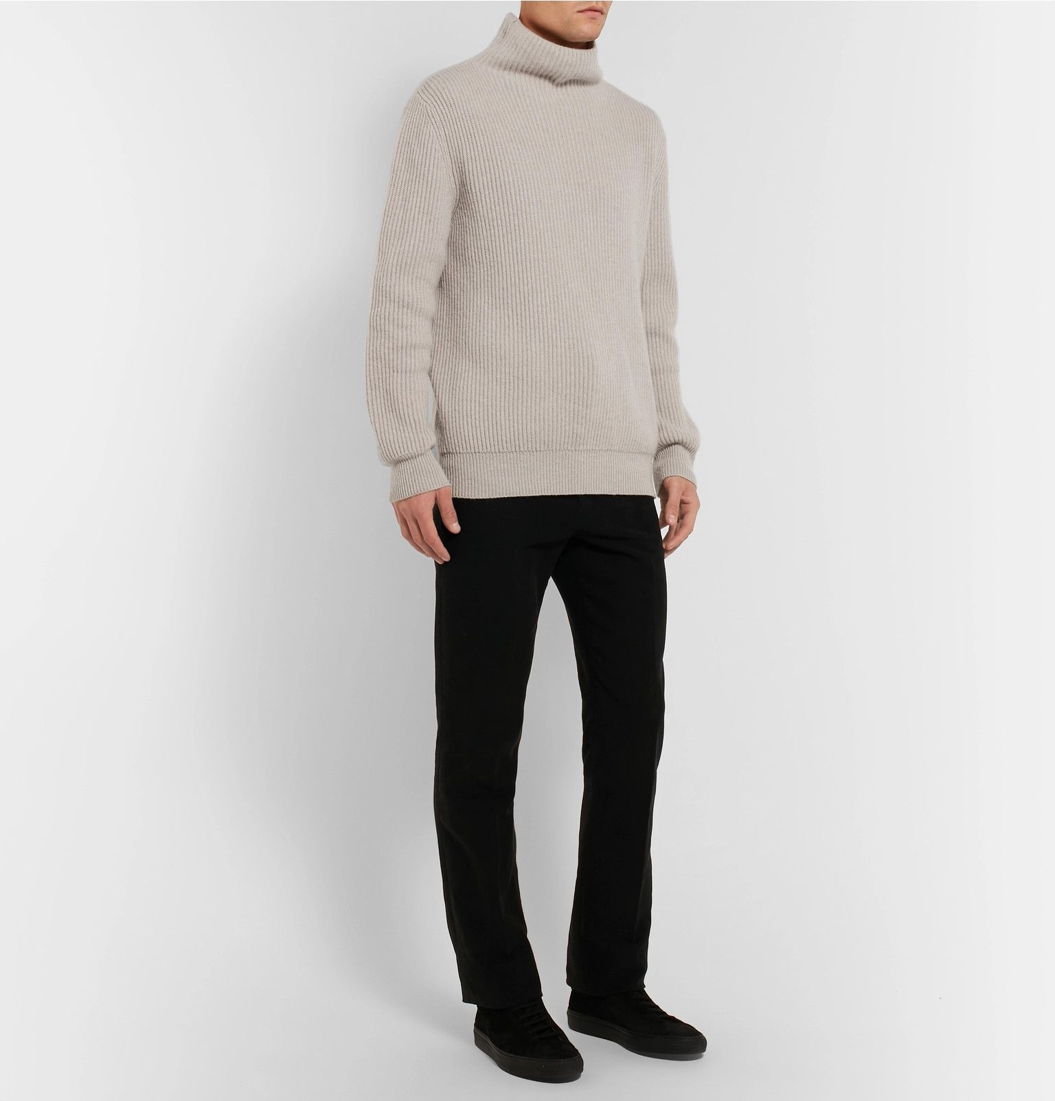 e8dbd793 Jackson Ribbed Cashmere Rollneck Sweater in 2019 | Sartorial | Roll ...
