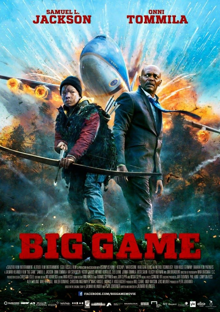 Big Game 2015 Official Movie Poster