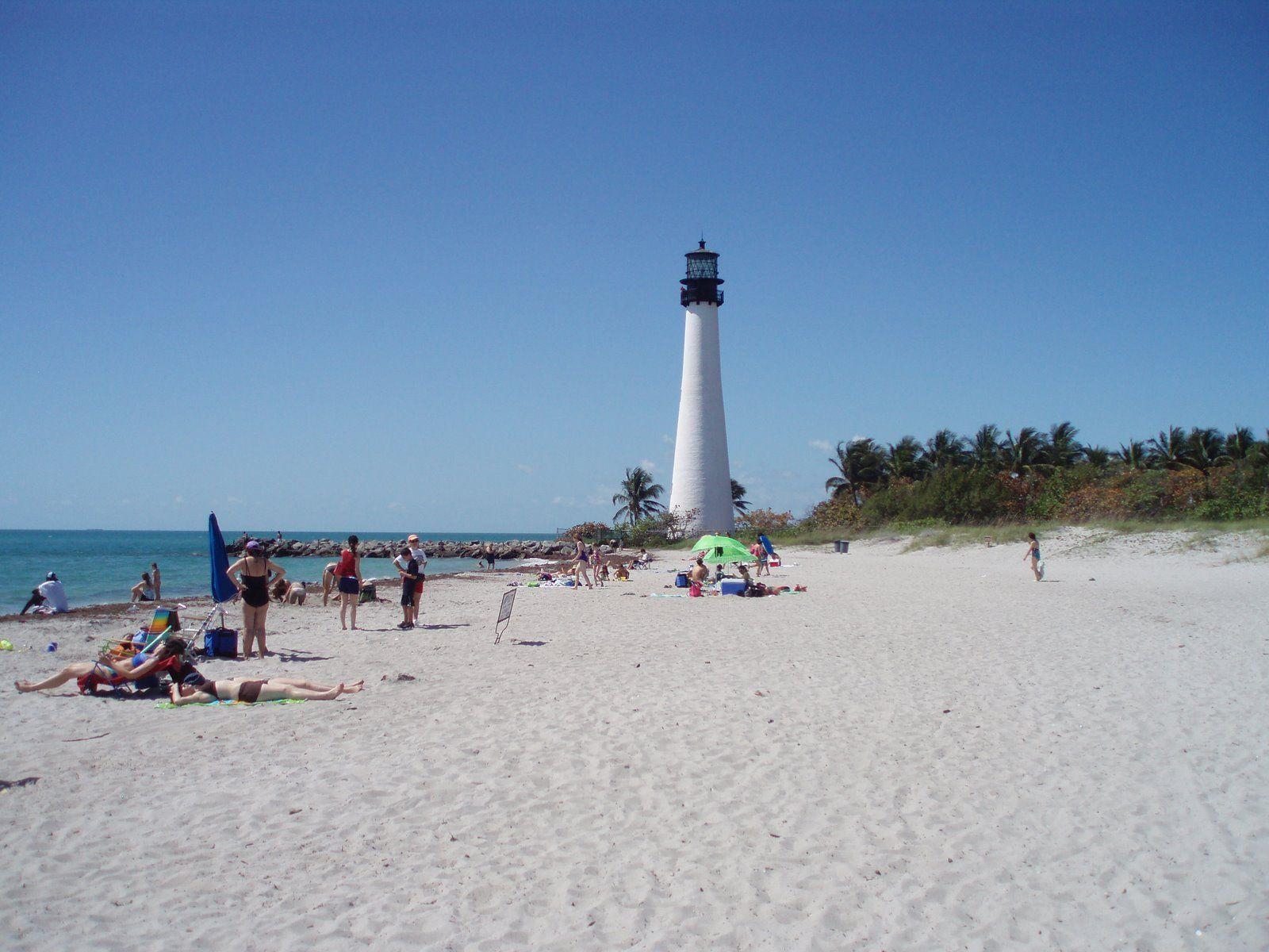 Cape Florida Beach Also Known As El Farito By Spanish Speakers