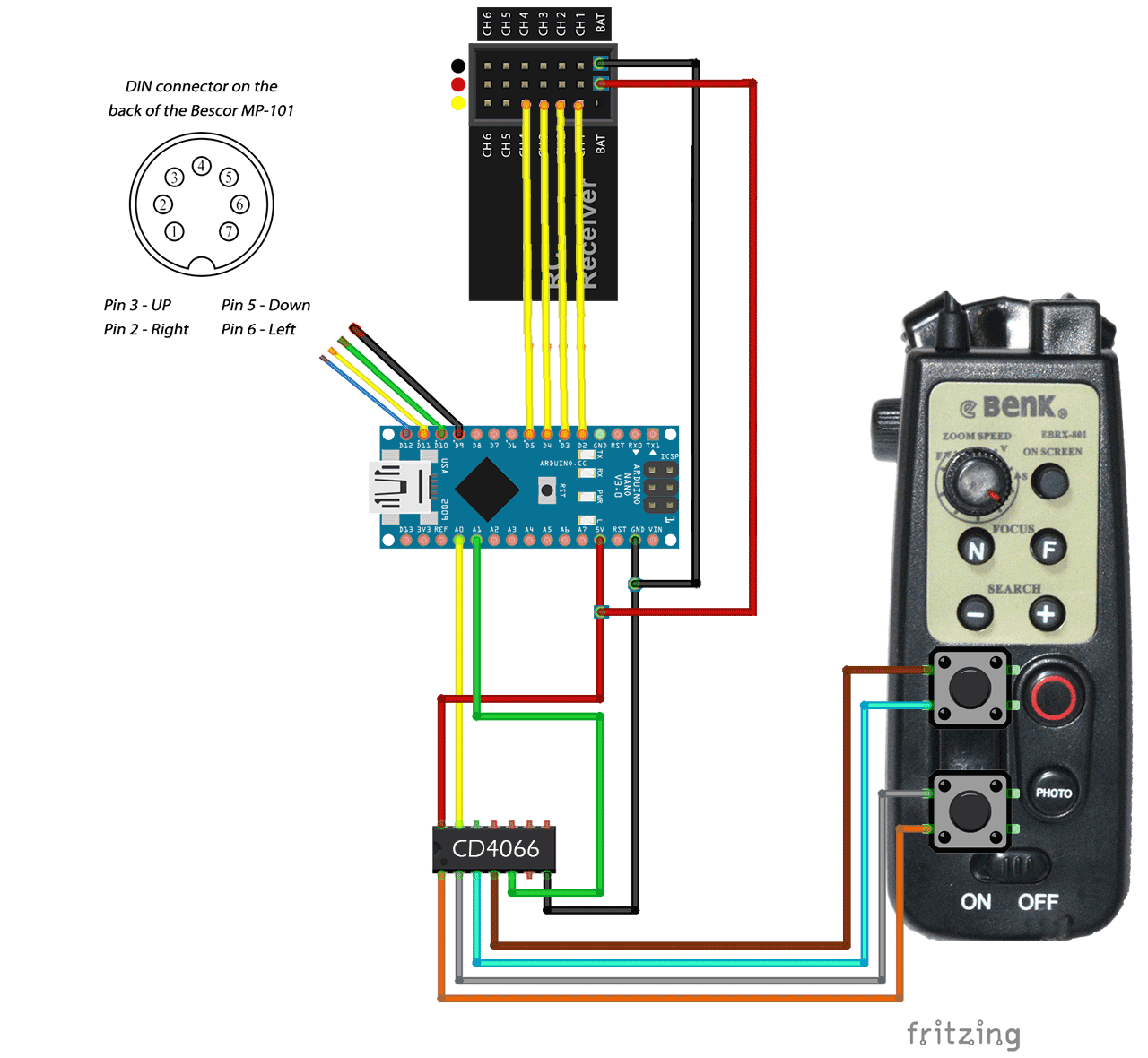 Parallel Wiring Diagram Ptz Cameras Schematic Diagrams Arduino Camera Tutorial Pinterest 485