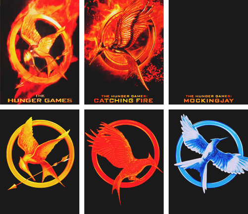 The Hunger Games And Catching Fire Logo And How They Are Translate Into Movie Logo And Now Lets Wait For Mo Hunger Games Books Hunger Games Hunger Games Series