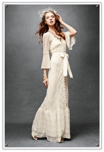 vestido inspirado en los años 70 | bodas vintage | pinterest