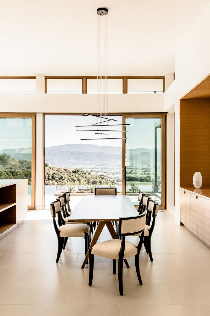John Maniscalco Designs A Spacious Contemporary Home In Oakville  # Muebles Jep Cali