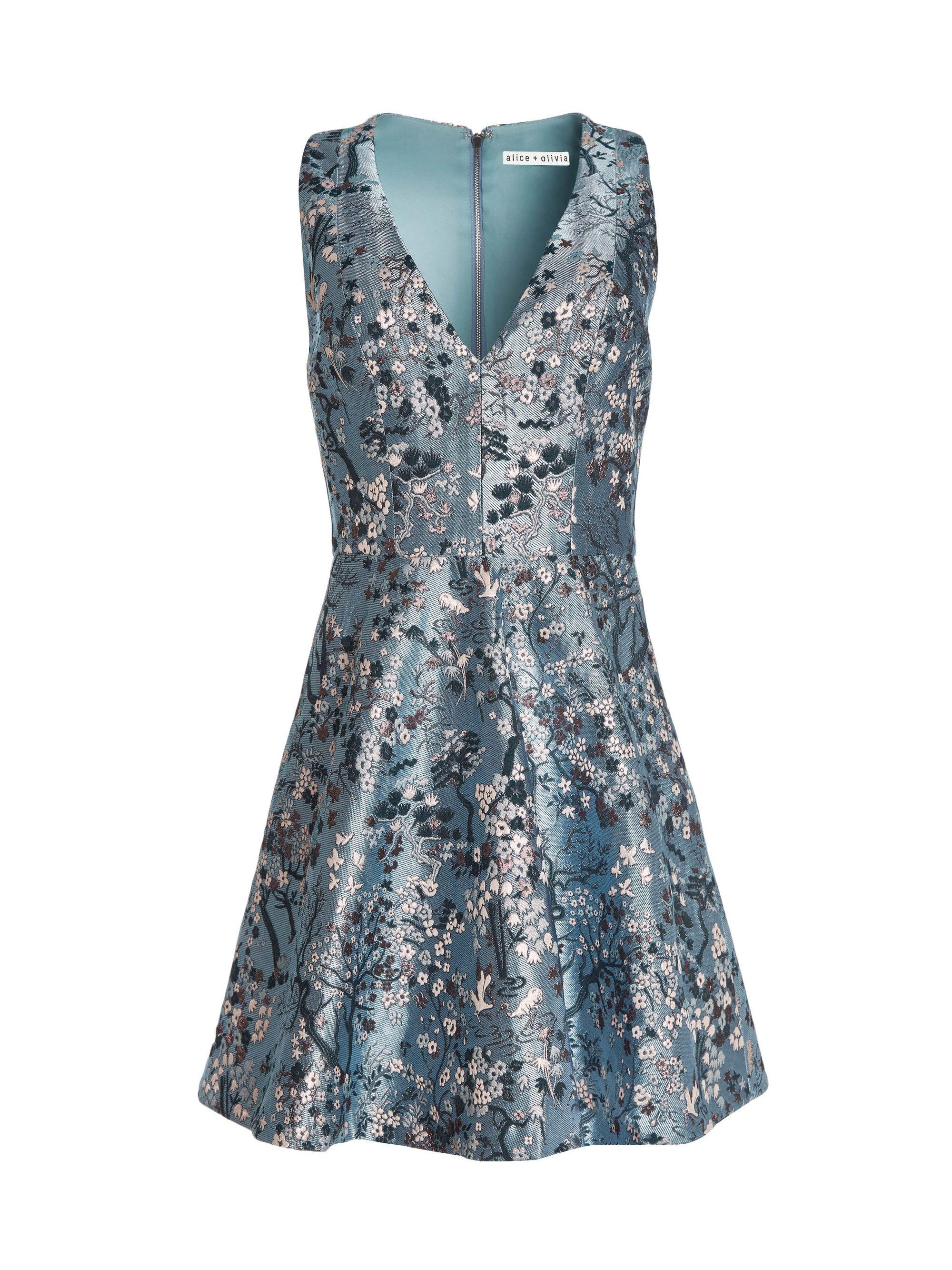 3bb84949738b TENNIE V-NECK PARTY DRESS by Alice + Olivia | Dresses | Dresses ...