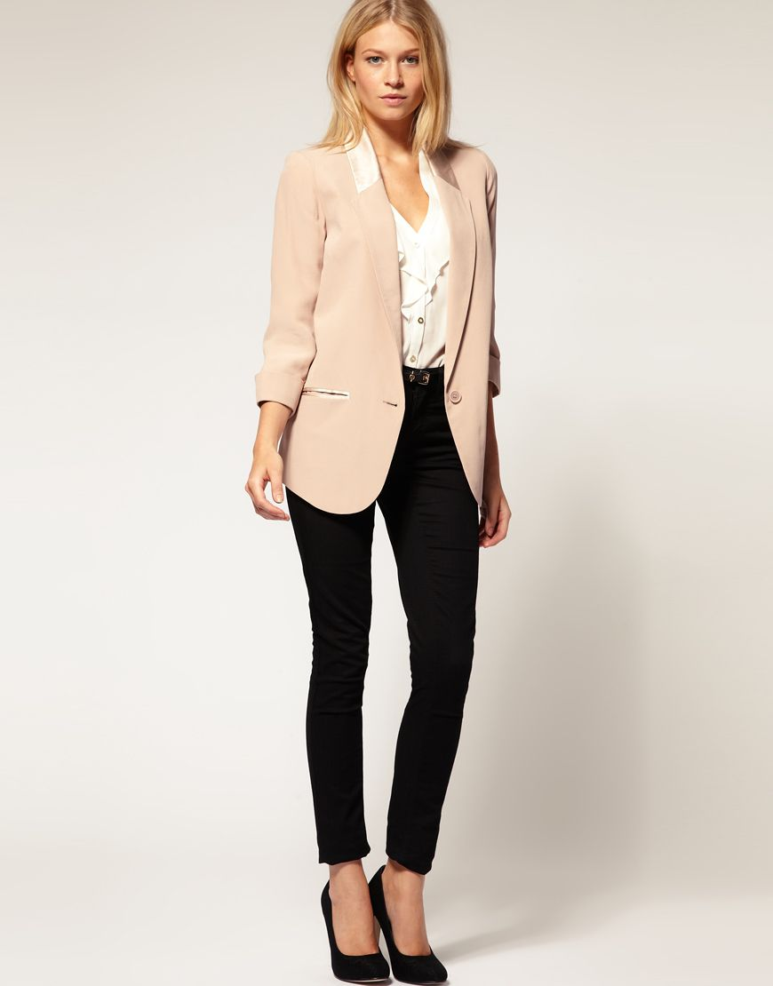 Blazer Like This Casual Office Wear