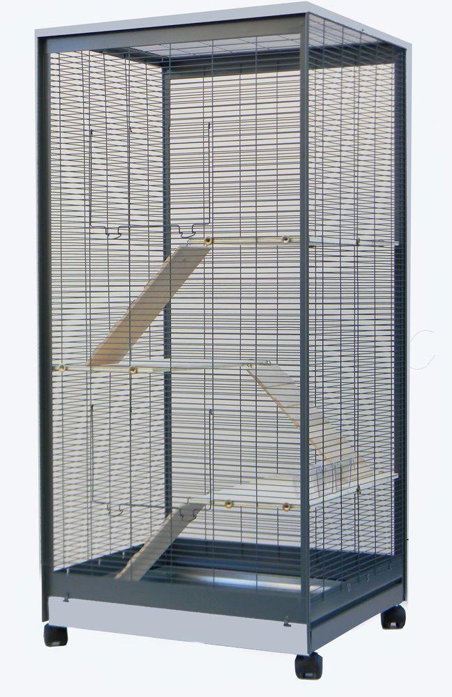 Nagervoliere Kafig Fur Ratten Chinchilla Degus Frettchen Voliere
