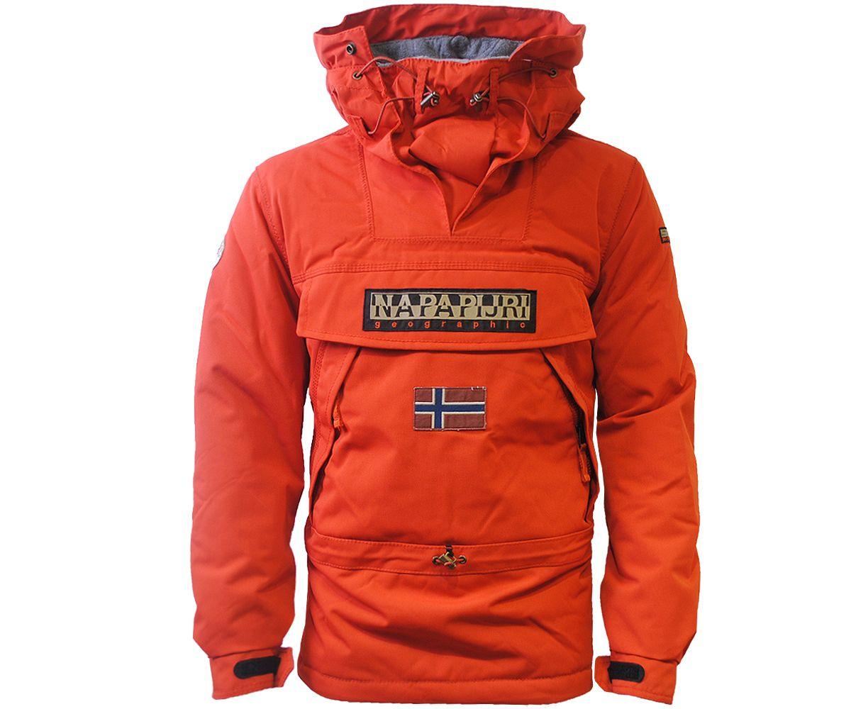 Napapijri Winter Skidoo Jacket Paprika - Terraces Menswear