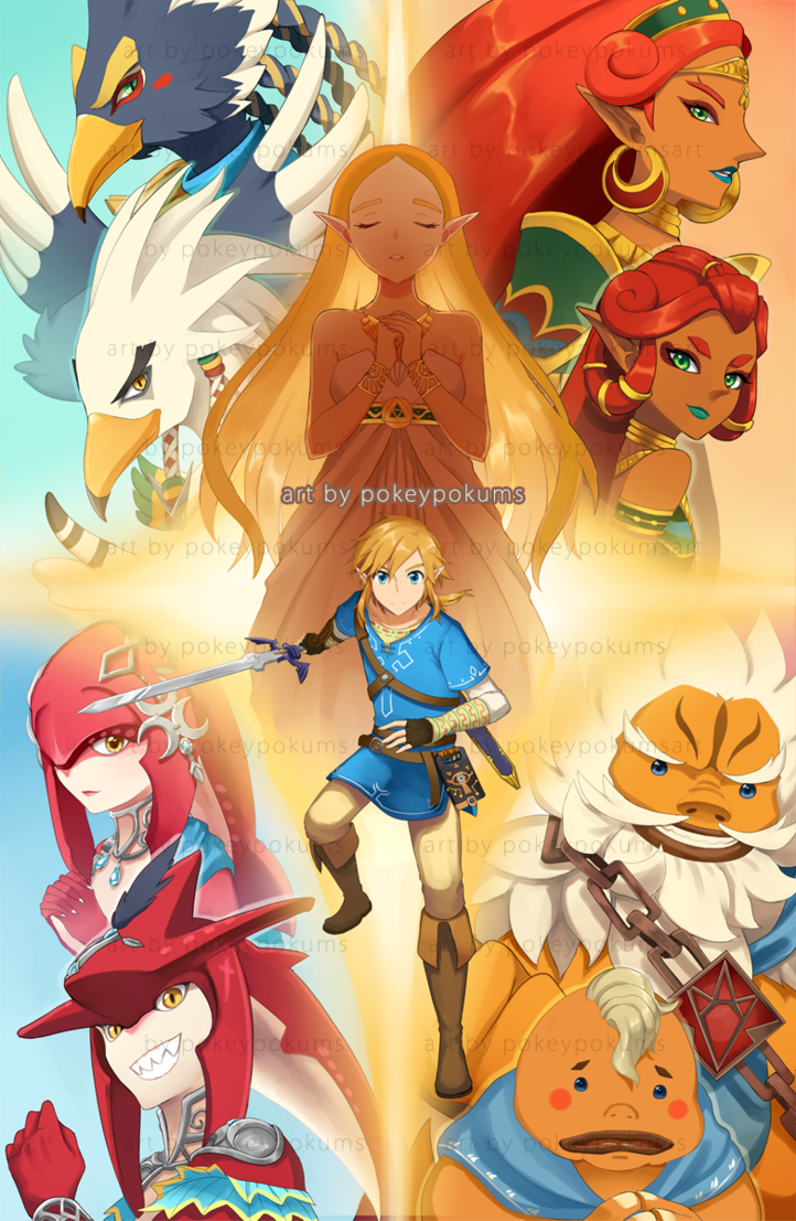 Breath Of The Wild By Pokeypokums On Deviantart Legend Of Zelda Memes Breath Of The Wild Legend Of Zelda Breath
