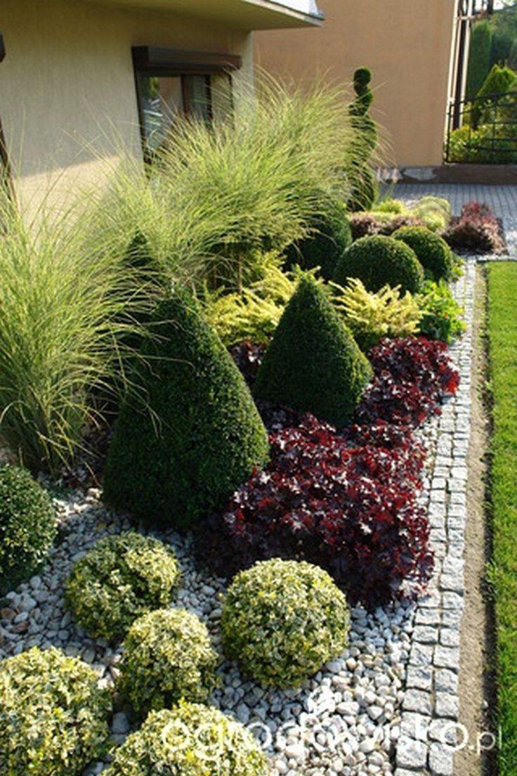 Kühle 45 eindrucksvolle Vorgarten-Landschaftsgestaltung-Garten-Ideen. Mehr bei homishom ...  #eindrucksvolle #garten #homishom #ideen #kuhle #landschaftsgestaltung #vorgarten #vorgartenideen
