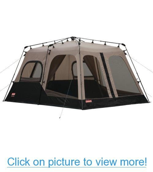 Coleman 14x10 Foot 8 Person Instant Tent Coleman 14x10