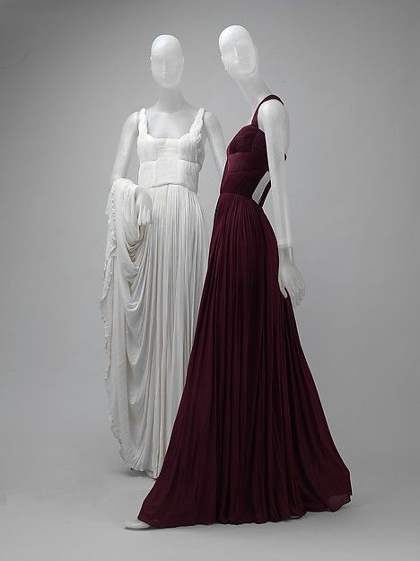 Dress Designer: Madame Grès (Alix Barton) (French, Paris 1903–1993 Var region) Date: 1969 Culture: French Medium: silk Dimensions: Length at CB: 62 1/2 in. (158.8 cm) Credit Line: Gift of Thomas L. Kempner, 2006