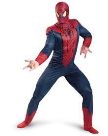 Spiderman Movie Classic Adult's Plus Size Costume