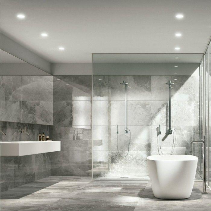 Carrelage Imitation Marbre Blanc Salle De Bain Italienne Petite