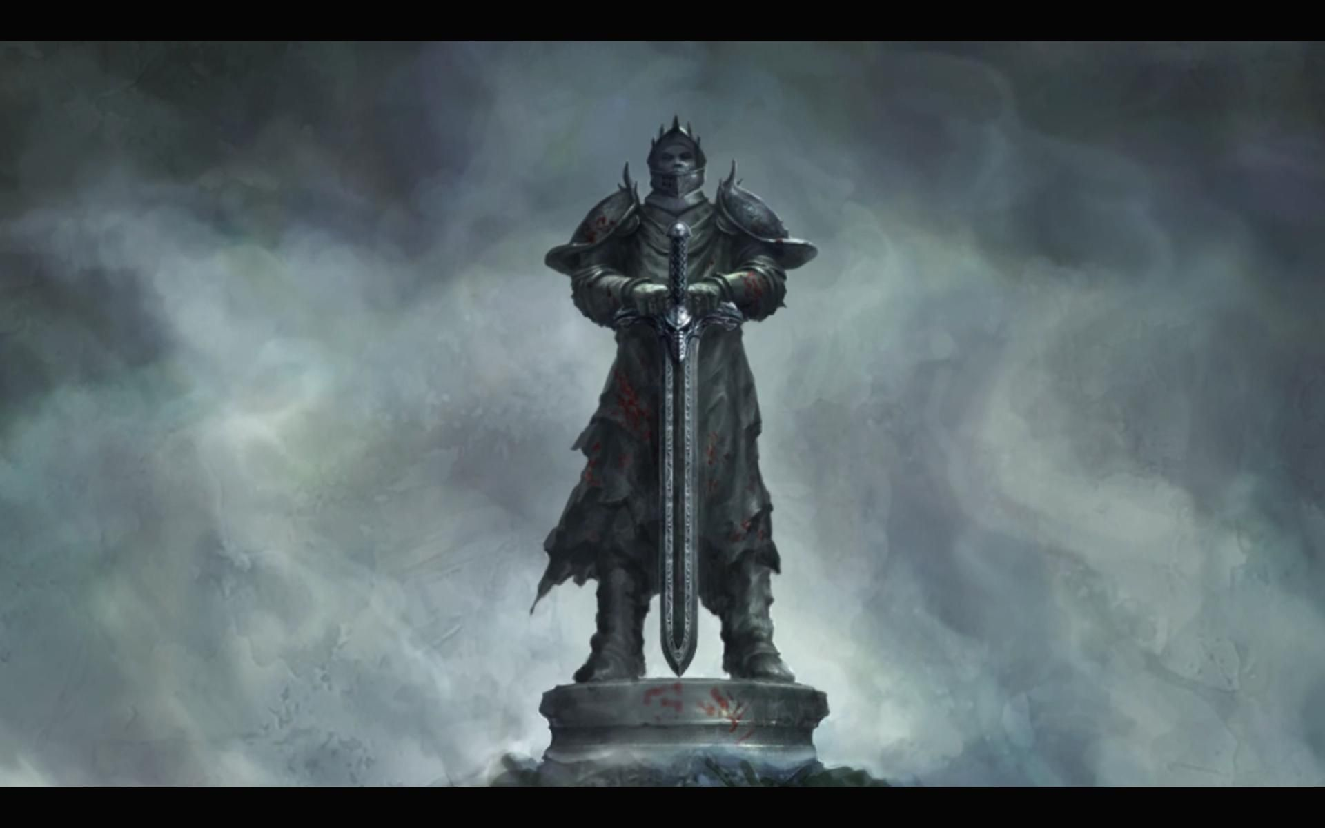 Fantasy Sword In Stone Art