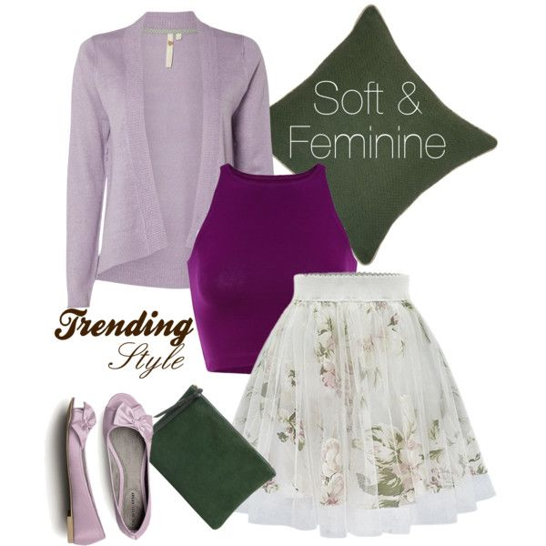 Soft by chanlee-luv on Polyvore featuring mode, White Stuff, Oliveve and Villa Home Collection