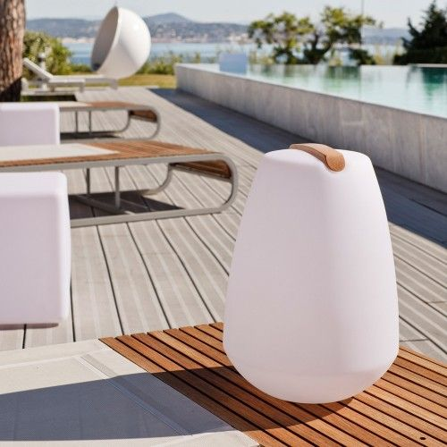 Portable Outdoor Lighting Vessel portable outdoor led lamp pebble the vessel is vessel portable outdoor led lamp pebble the vessel is waterproof shockproof cordless and rechargeable it can be used both indoors and out workwithnaturefo