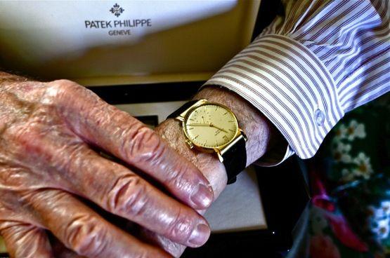Exclusive Interview: Charles Woehrle, World War II POW, Shows Us His New Patek Philippe — HODINKEE - Wristwatch News, Reviews, & Original St...
