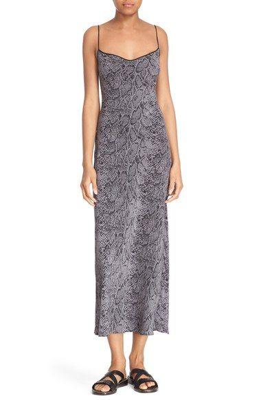 c4315a2abf316 EQUIPMENT Kate Moss For Equipment  Jessa  Maxi Silk Slipdress.  equipment   cloth