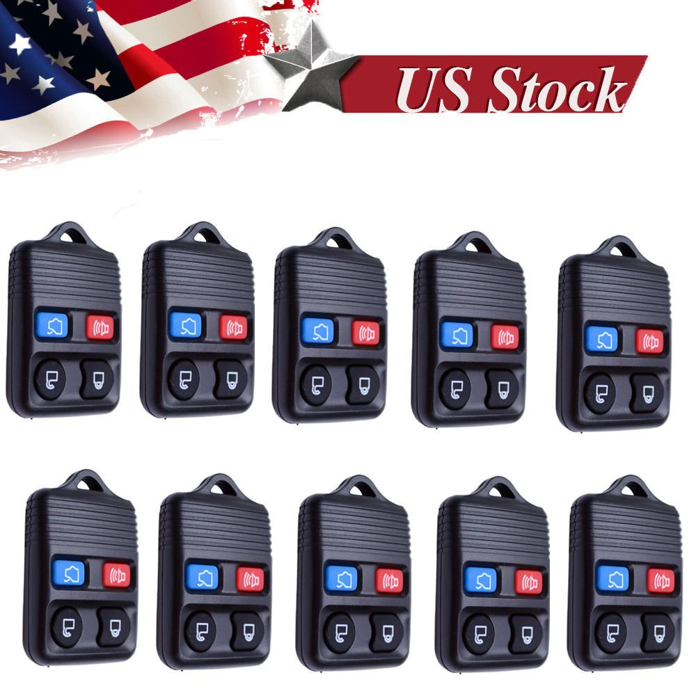 10 keyless entry remote key fob case for ford escape
