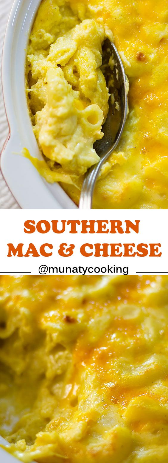 Southern Mac and Cheese A Soul Food - Munaty Cooking #bakedmacandcheeserecipe