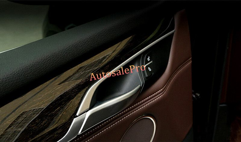 For Bmw X5 F15 2014 2015 Stainless Steel Interior Door Handle Bowl