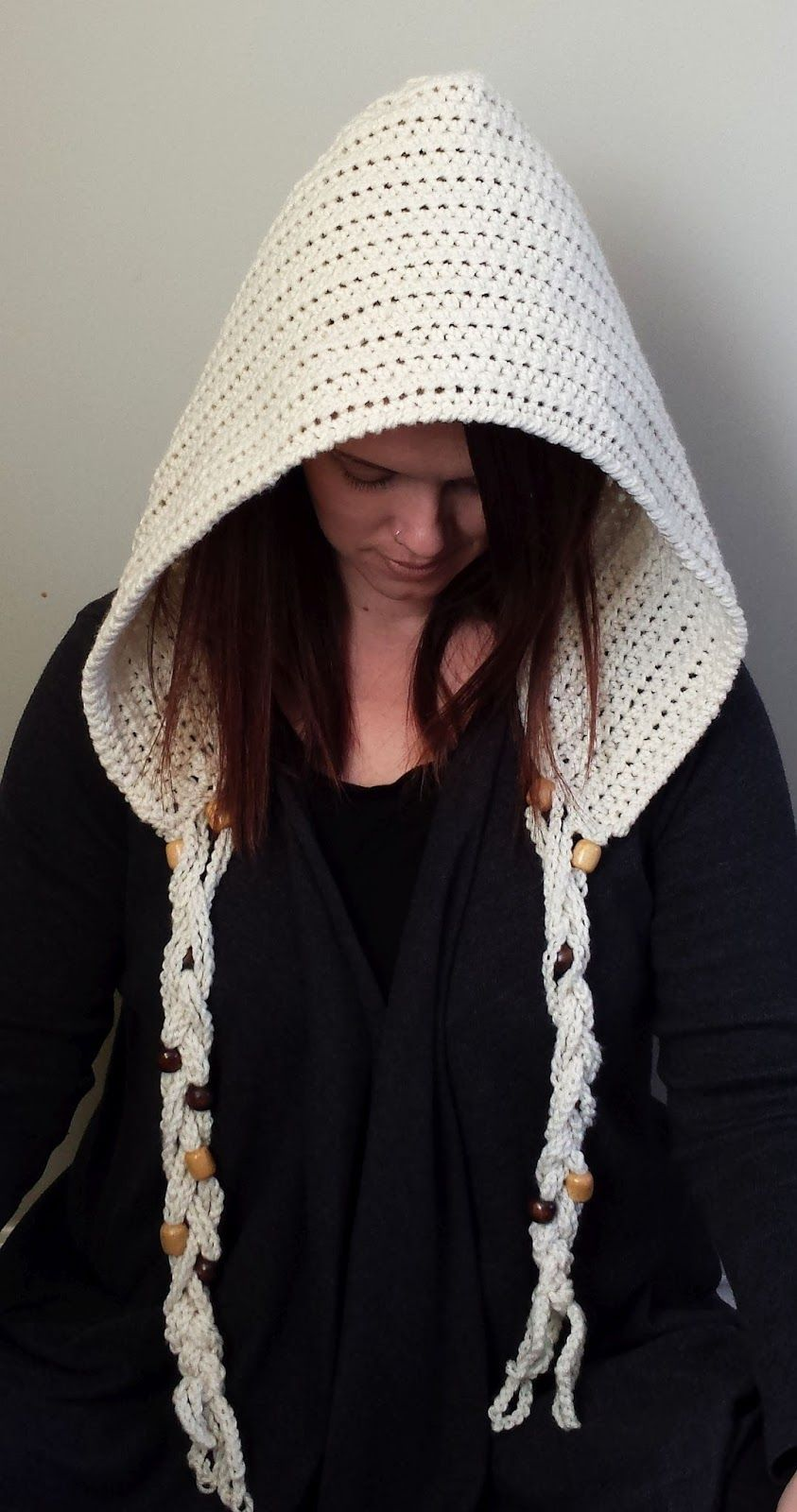 You can do so many things with a basic crochet hood! You can give it ...
