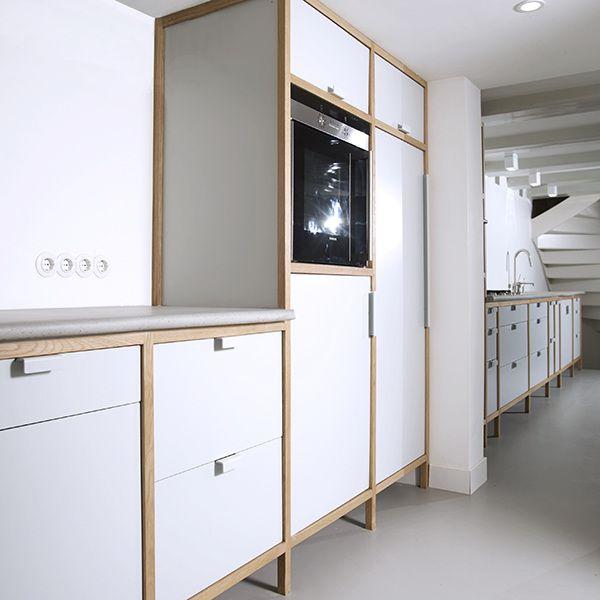 cabinet kitchen - Minimalistic kitchen design with ...
