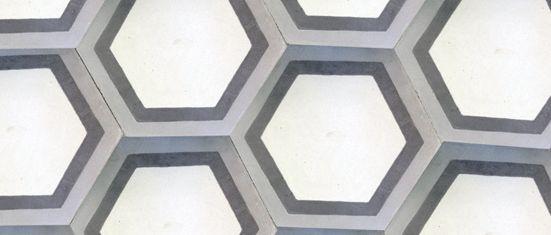 Amazing Cement Hex! Baldosas hidráulicas de colores