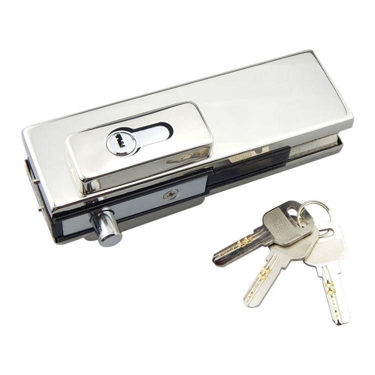 Frameless Shower Door Lock