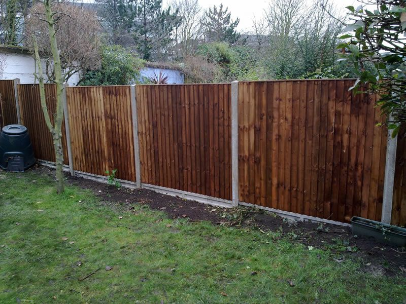 Fence With Concrete Base And Posts Must Have Concrete Fence Posts Concrete Fence Small Garden Fence