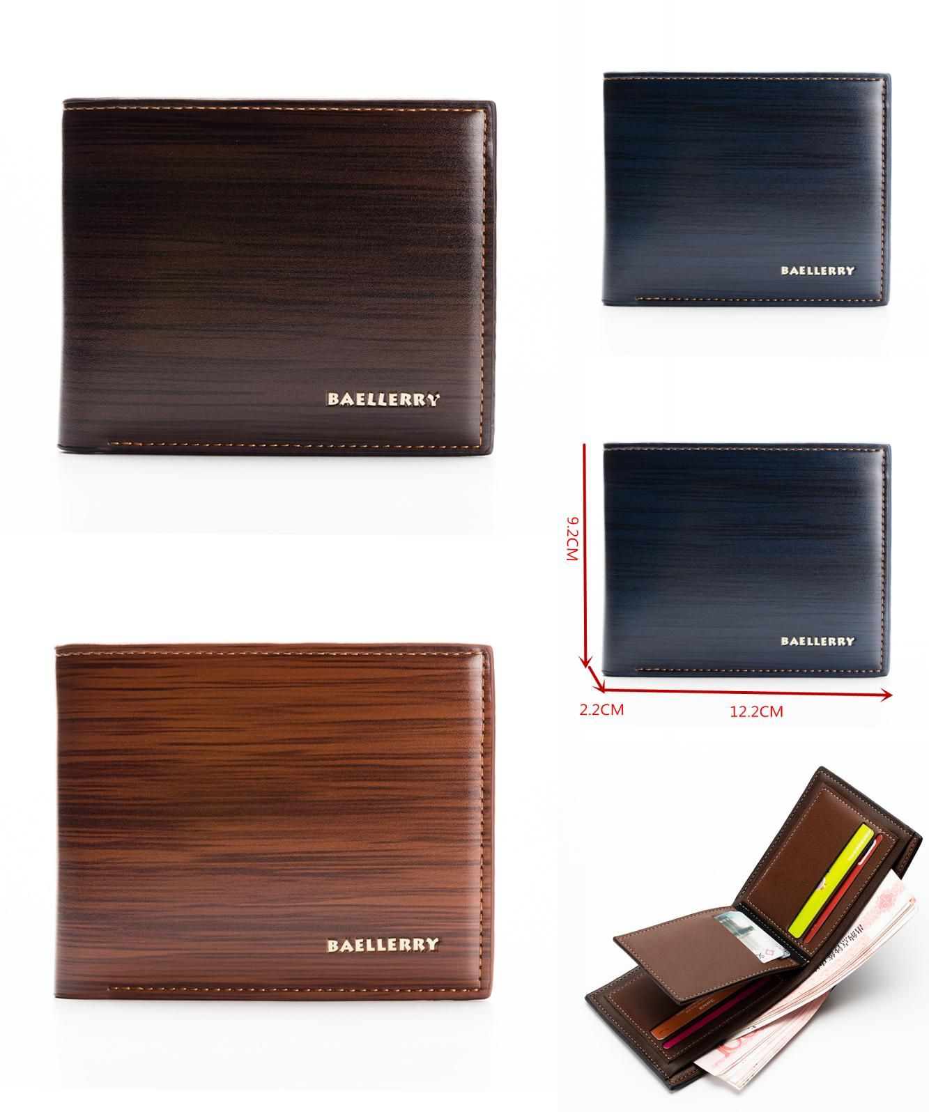 Visit To Buy Famours Brand Men Wallets Luxury Men Pu Leather