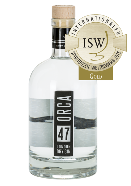 NAVY SPIRITS ORCA 47 London Dry Gin #orca47 #navyspirits