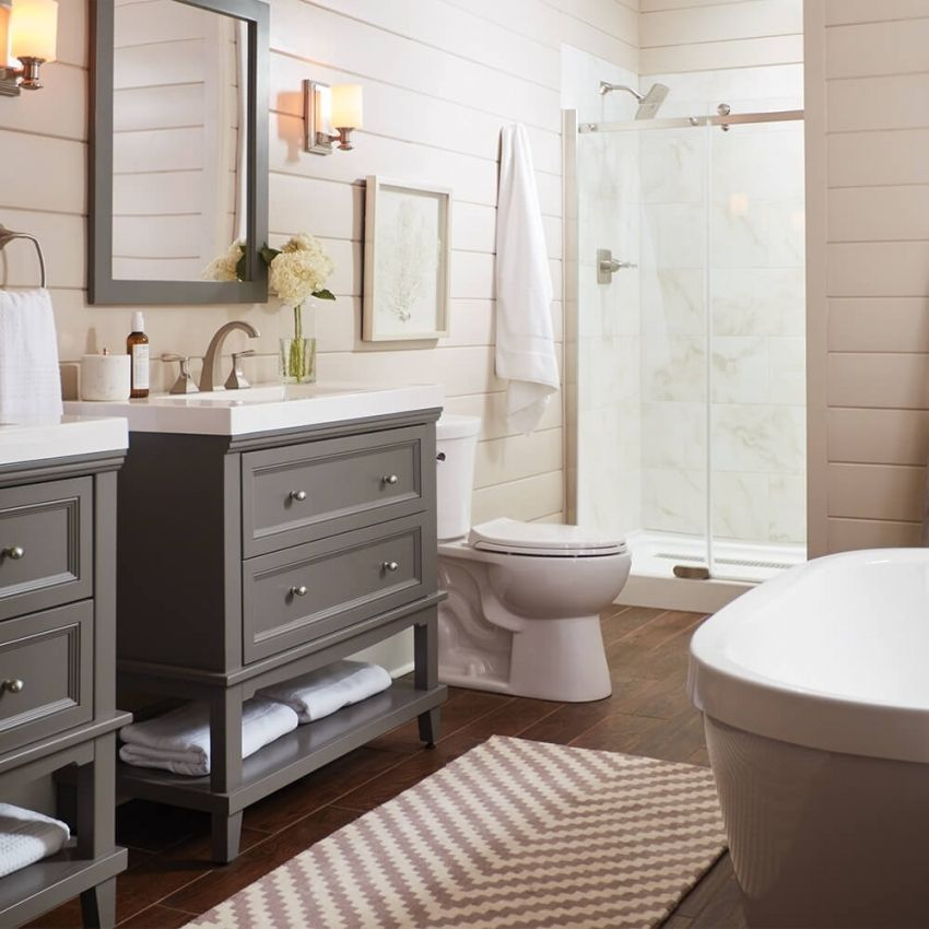 10 Mindblowing Inspirational Basic Bathroom Remodel In 2020 Bathroom Cost Home Depot Bathroom Bathroom Remodel Pictures