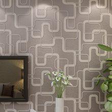 Moderno geometrico abstract stripe carta da parati 3d non tessuto murale carta da parati - Carta da parati 3d camera da letto ...