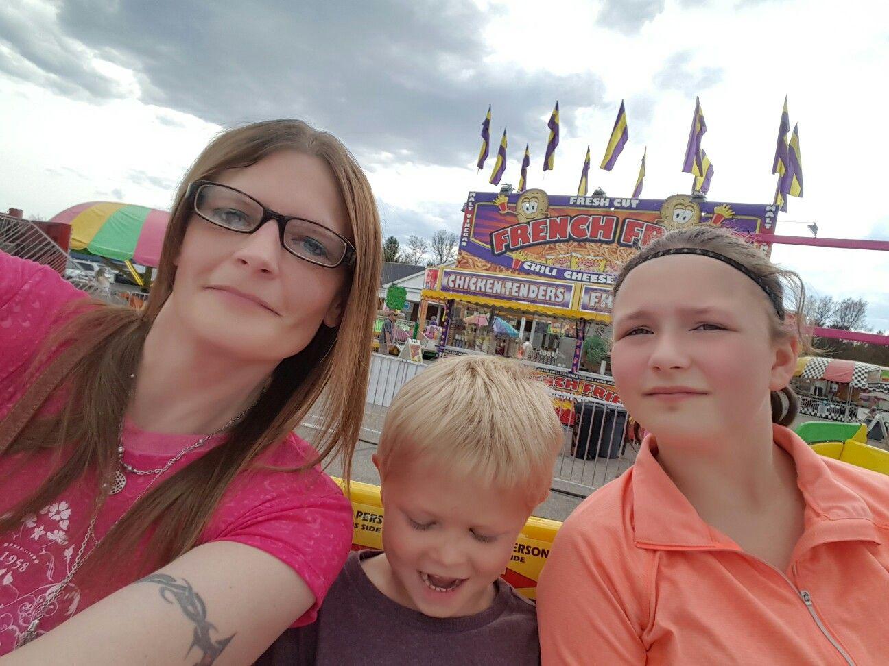 At the fair...♡