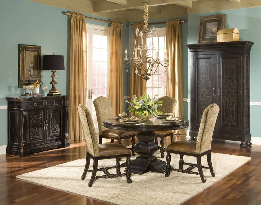 """Aspen Round Dining Table  48""""  Ambella Home  Home Gallery Simple Aspen Home Dining Room Furniture Inspiration"""