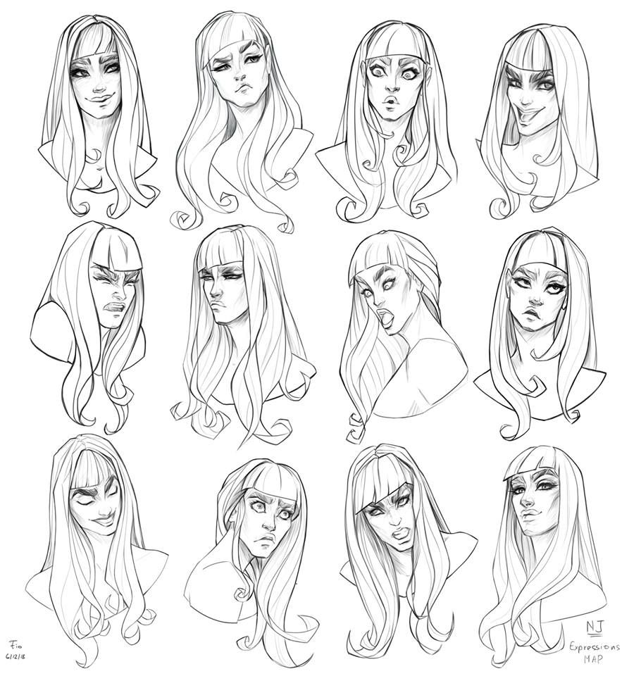 Pin By Katishere On Art References Cartoon Drawings Art Drawing Expressions